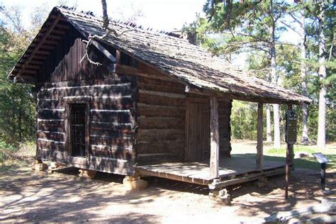 Pioneer Cabin by Petit Jean State Park Pioneer Cabin