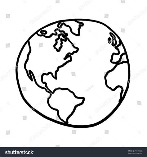sketch your world drawing world outline illustration outline drawing planet stock illustration 70670620 shutterstock