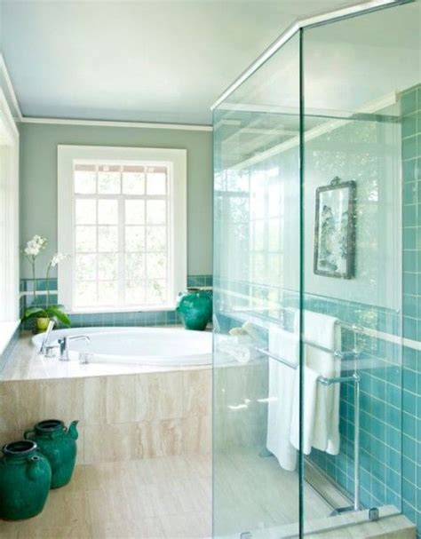 turquise bathroom 41 aqua blue bathroom tile ideas and pictures