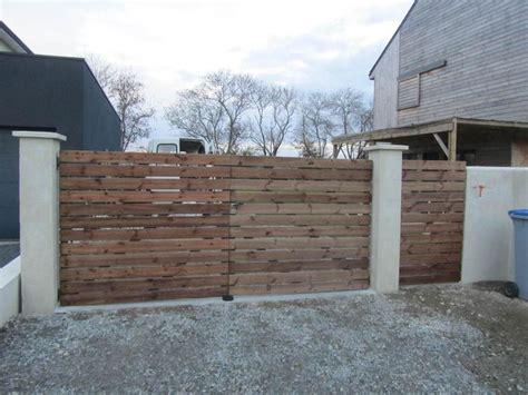 fabriquer une porte de jardin en bois meilleures id 233 es