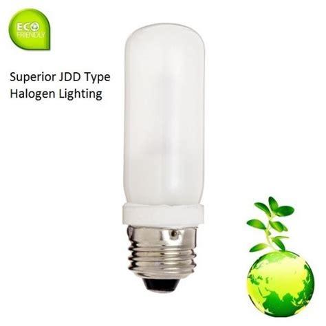 Lu Sorot Halogen 100 Watt halogen jdd frosted tubular 120v medium e26 bulb 50 75