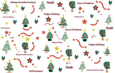 4 best images of printable christmas paper designs