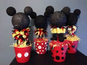mickey mouse centerpieces mickey mouse clubhouse ideas pint