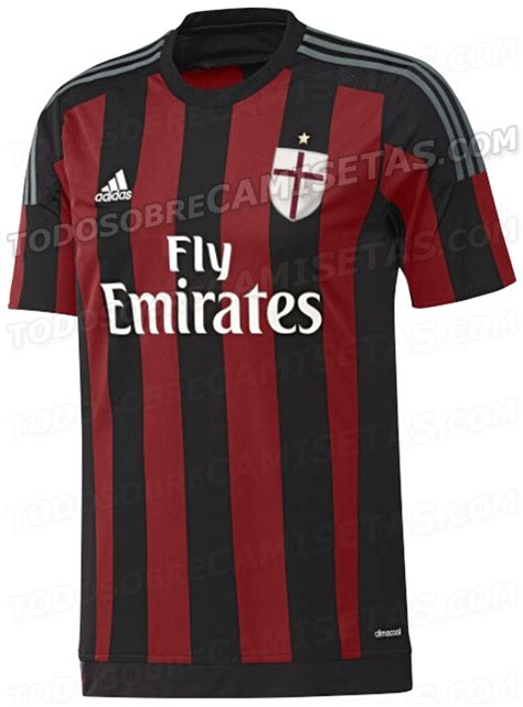 Sweater Ac Milan 2016 2017 Leaked Adidas Green leaked ac milan s 3 kits for 2015 2016 pictures 101