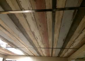 ceiling tile options dropped ceiling i wallpapered the ceiling tiles i