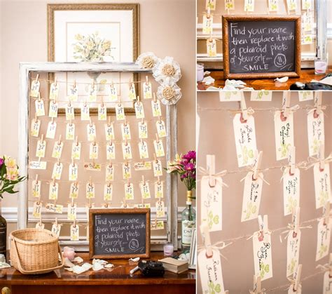 Seating Card Ideas For Wedding