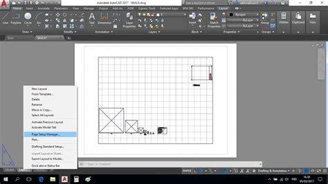 layout autocad tutorial cara membuat layout autocad tutorial plot lembar kerja