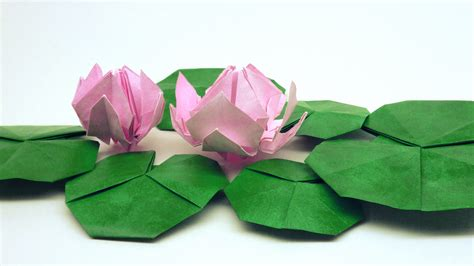 Water Origami - gallery leaf origami