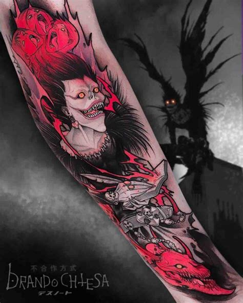 revenge tattoo ryuk best ideas gallery