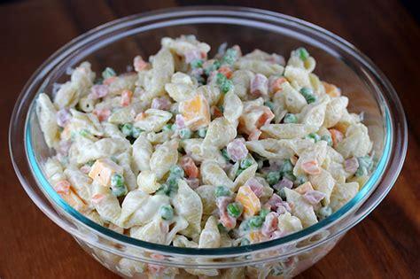 cold salad ham cold salad recipe blogchef net