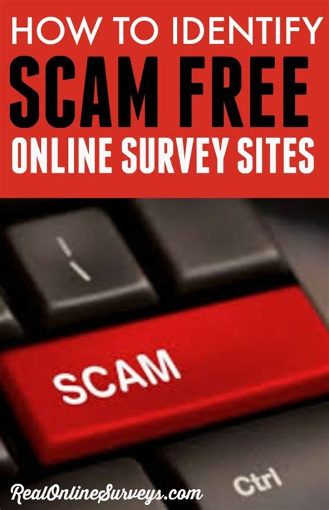 Survey Websites Free - how to identify scam free online survey sites