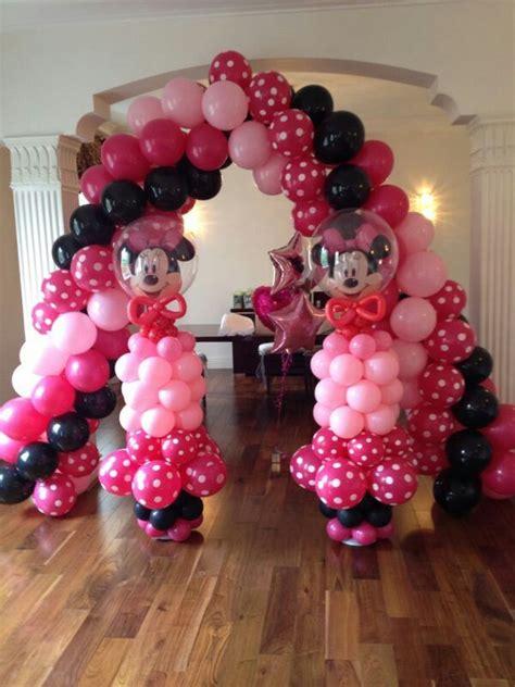 Minnie Mouse Balloon Decoration by Jojofun Balloon Decorations Minnie Mouse Children S