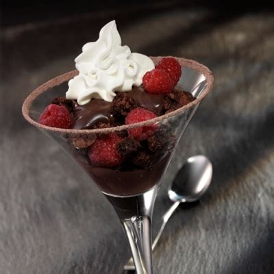 martini dessert raspberry and chocolate pudding dessert martini ready