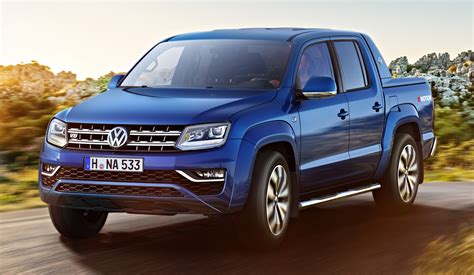 volkswagen pakistan volkswagen amarok facelift new images released image 499310