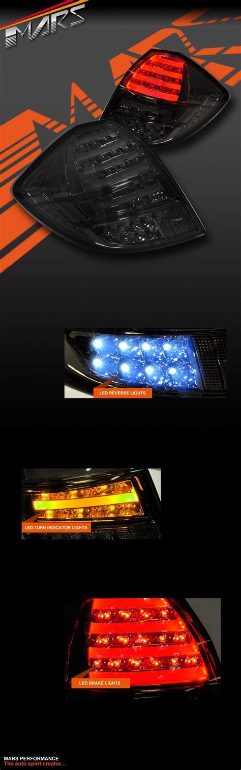 Led Jazz smoked led taillight lights for honda jazz fit