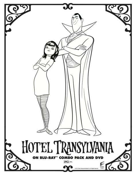 Halloween Coloring Pages Hotel Transylvania   hotel transylvania book az coloring pages