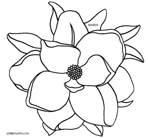 printable magnolia flowers best 25 flower outline ideas on pinterest tattoo