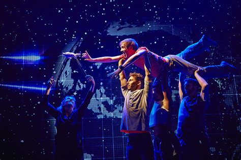 in the nighttime review the curious incident of the in the time gielgud theatre a younger