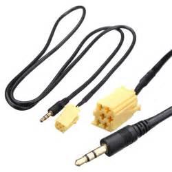 Fiat Grande Punto Aux 3 5mm Aux Audio Cable Input Adapter For Fiat Grande