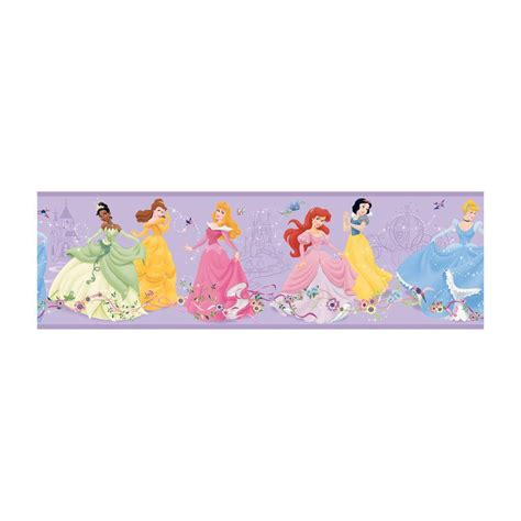 disney wallpaper home depot disney disney kids dancing princess wallpaper border