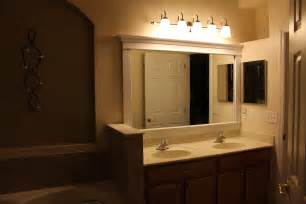 Mirror Height Above Vanity bathroom lighting and mirrors bathroom design ideas