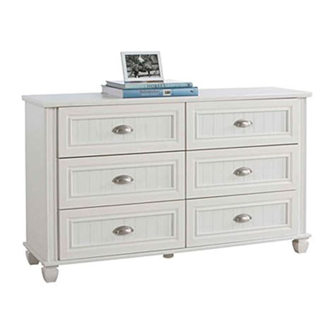 ameriwood 6 drawer federal white dresser at big lots