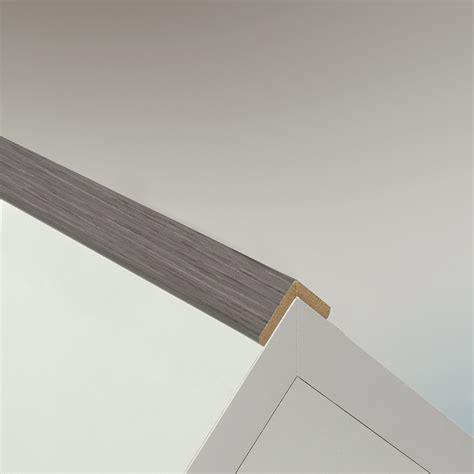 wand und deckenleisten knickleiste grau mdf 2600x44mm knickleisten