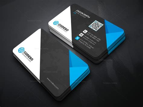 Technology Business Card Templates by Technology Business Card Design 1 Template Catalog