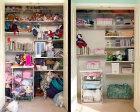 Closet decluttering storage organization before after so cal real