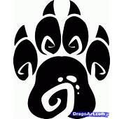 Lion Paw Print  Clipartsco