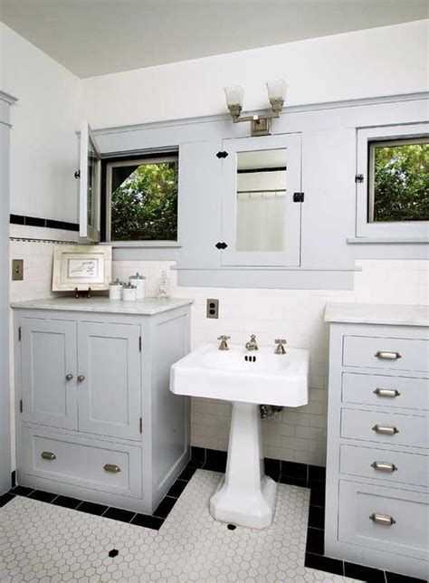 craftsman bathroom medicine cabinets and bungalows on
