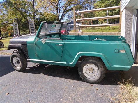jeep commando for sale 1969 jeepster commando project for sale