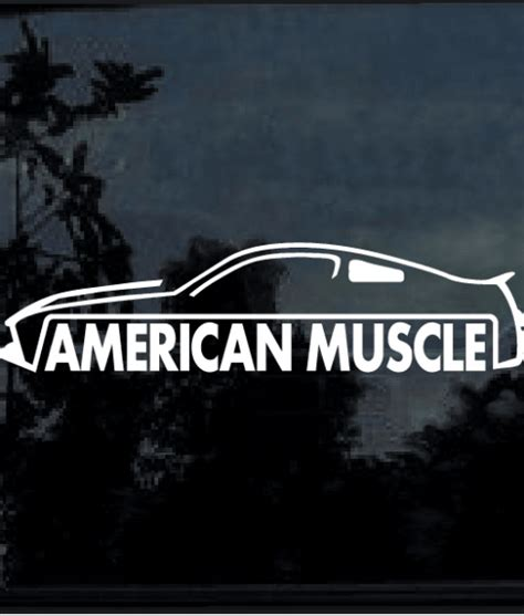 mustang back window decals american ford mustang decal sticker custom
