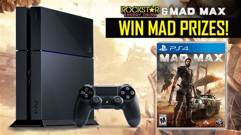 Sweepstakes Max - rockstar and wheels mad max sweepstakes rockstar energy drink