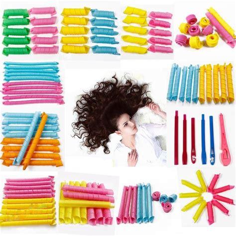spiral volume magic curls hair alat keriting rambut multi color jakartanotebook