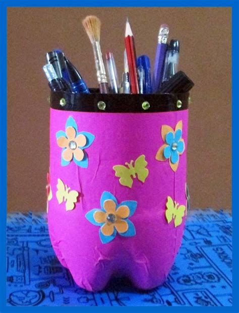 Handmade Craft From Waste Material - 11 best images about pen stand on pencil cup