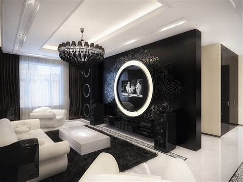 Interior Design Black And White Living Room - 17 inspiring wonderful black and white contemporary