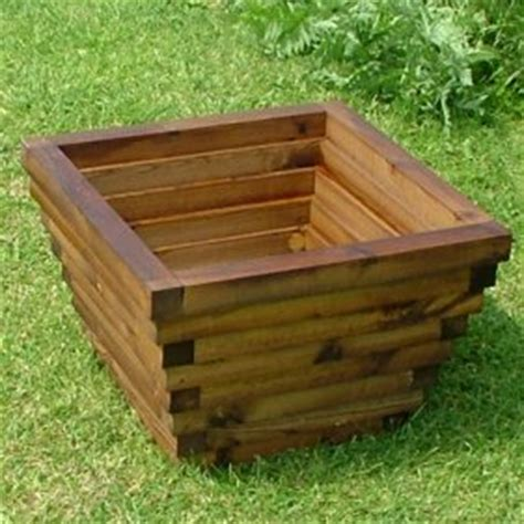wooden garden planters the banbury crafted in pine