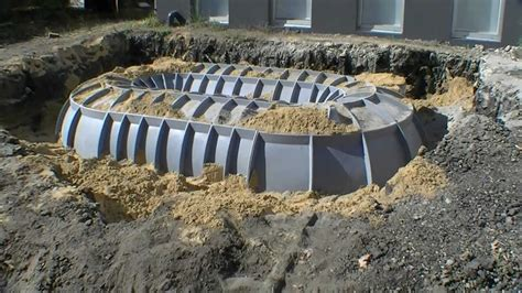 Design Your Own Earthbag Home underground water tank real costs behind them youtube