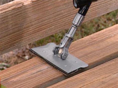 clean  seal  deck  tos diy
