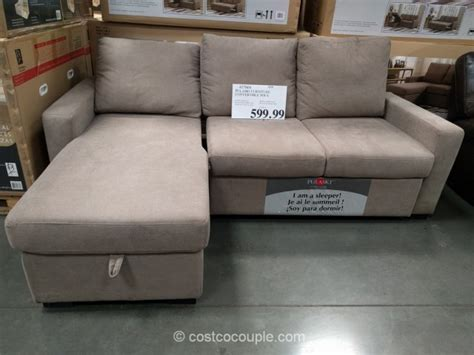 sofa bed at costco pulaski convertible sofa chaise