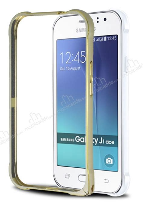 Ultratin Samsung J1 Ace Gold eiroo samsung galaxy j1 ace gold 199 izgili metal bumper