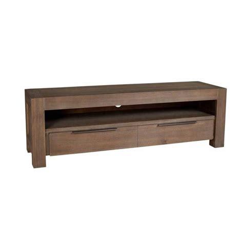 meuble tv acacia meubles tv meubles et rangements meuble tv 1