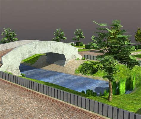 Vr Park 3d 3d 3d model low poly park vr ar low poly max obj 3ds lwo