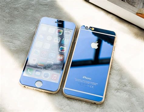 pcs colored tempered glass  iphone   front