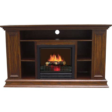 Entertainment Center With Electric Fireplace Product Stonegate Electric Fireplace Entertainment Center 4260 Btu Oak Finish Model Fp10
