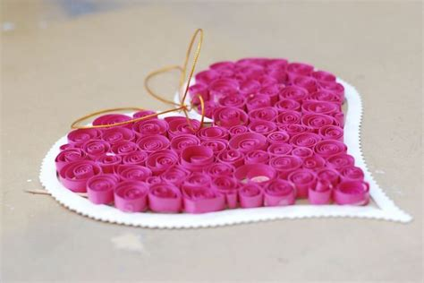 Home Decoration Stuff by Valentine S Day Craft Idea For Kids A Fun Paper Quilling