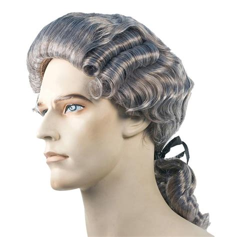 Wig Makeover For Men | colonial man wig accessories makeup