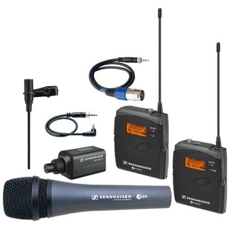 Sale Sennheiser Set Pc 21 Ii sennheiser ew100 eng g3 combo with bonus e835 handheld mic 503308 microphones vistek canada