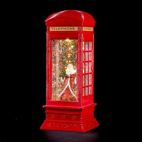led red post box  santa decorative christmas light